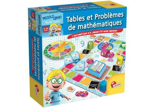 I'm a genius Tables et problèmes de mathématiques français
