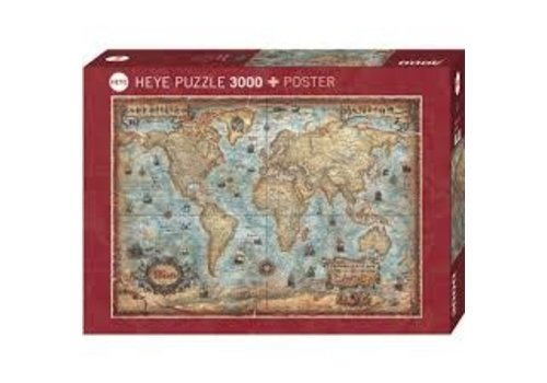 The World 3000 pcs