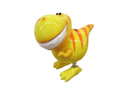 Tirelire Dinosaure Jaune