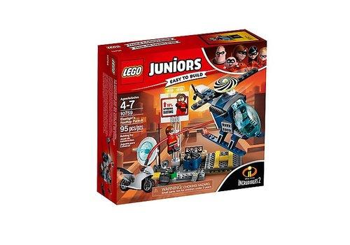 Lego Juniors La poursuite sur les toits d'Élastofille