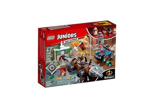 Lego Juniors Le vol de banque de l'Inframineur