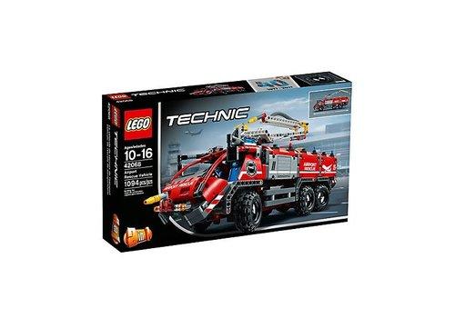 Lego Le véhicule de secours de l'aéroport
