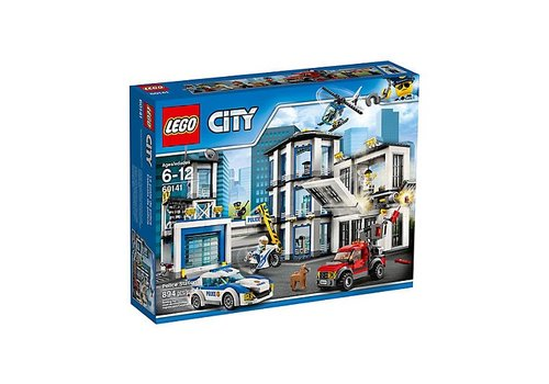 Lego CITY Le poste de police