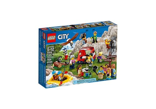 Lego City Ensemble de figurines – Aventures en plein air