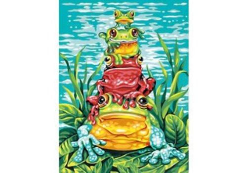 Carambolage de grenouilles 9 x 12