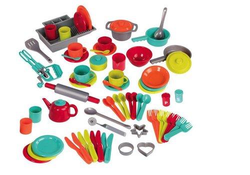 Battat / B brand Ensemble de vaisselle de luxe