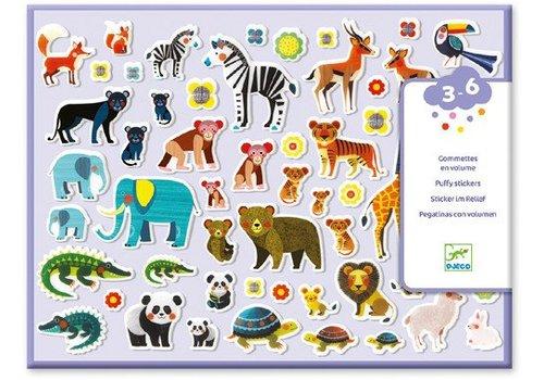 Djeco Stickers maman et petits