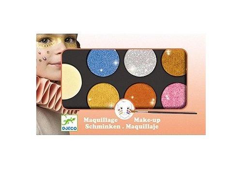 Djeco Maquillage / Palette 6 couleurs / métallique