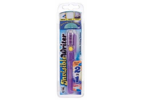 2-en-1 crayon invisible