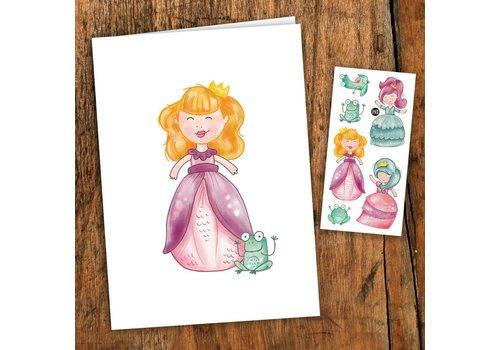 pico Carte de souhait - Princesses