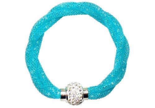 creative education Classy Crystal Clasp Bracelet