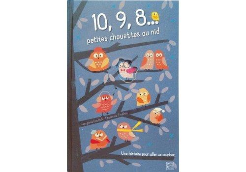 Editions quatre fleuve 10,9,8... petites chouettes au nid