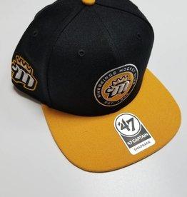 Snapback Hat , Blk, L