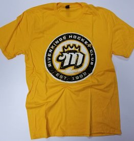 Gold Roundel Soft Tee Gold