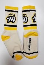 Crew Socks, Tan, 7-9