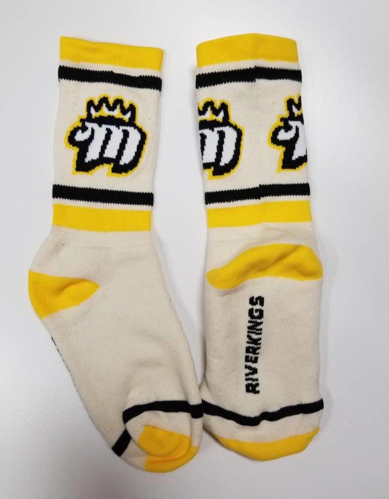 Crew Socks, Tan, 10-13