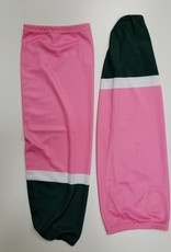 Hockey Socks Pink & Green
