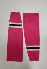 Hockey Socks Pink & White