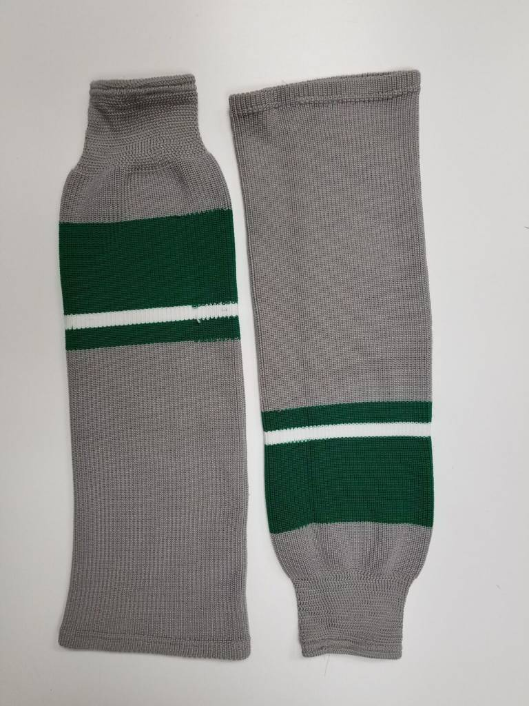 Hockey Socks Green & Grey