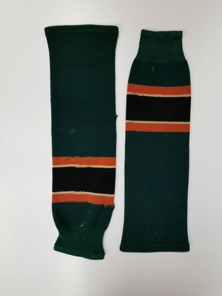 Hockey Socks Green, Orange & Black