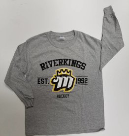 Gray Long Sleeve Vintage