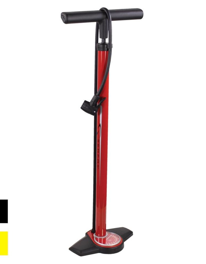 Serfas FLOOR PUMP ALLOY DUAL HEAD