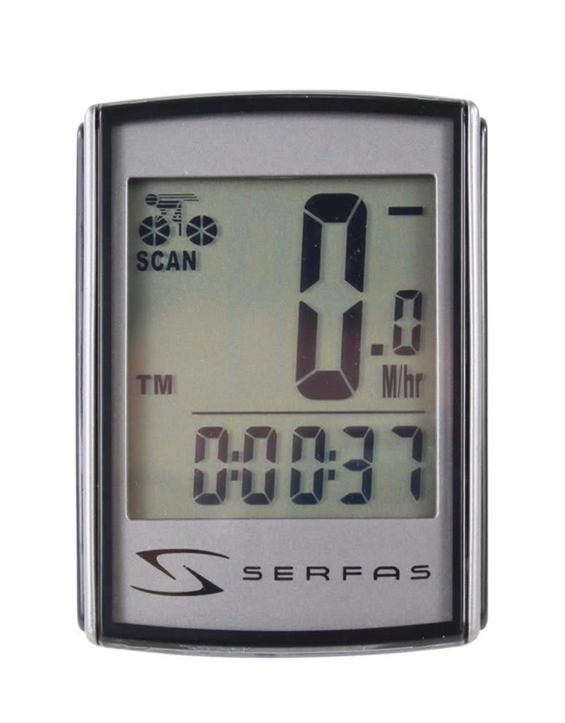 Serfas 9 FUNCTION LEVEL 1+ BACKLIT WIRED SPEED
