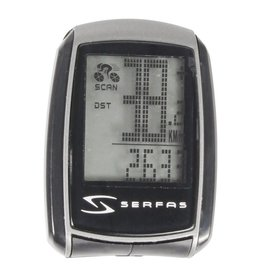 Serfas 15 FUNCTION WIRED COMPUTER- SLIM DESIGN