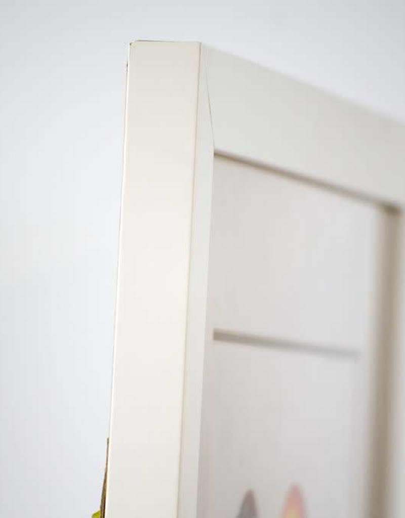 Tobacco, Garnet Sandhill Crane - white background