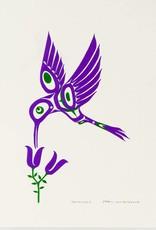 Bull, Pauline Hummingbird (purple) original PB