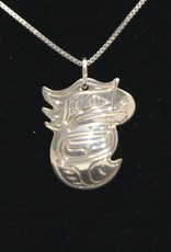 Chance Adrian Gesinghaus Small Eagle Silver necklace