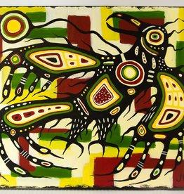 Pawis-Steckley, Joshua Mangeshig Thunderbird original Painting