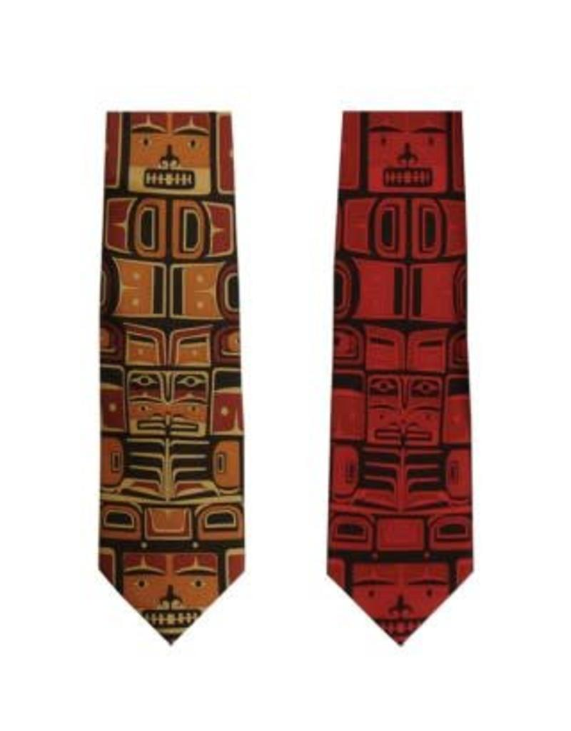 Helin, Bill Chilkat Boxed Tie Red