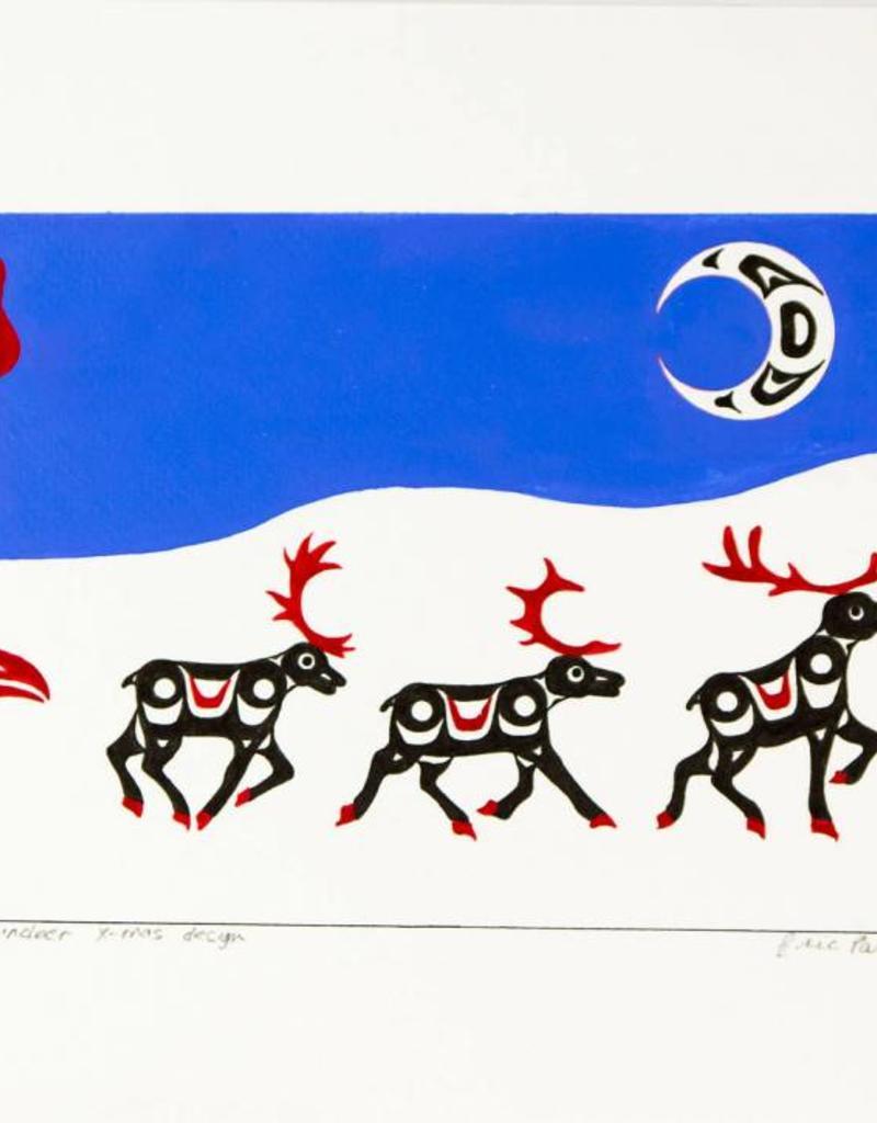 Parnell, Eric Totem & Reindeer Xmas Design