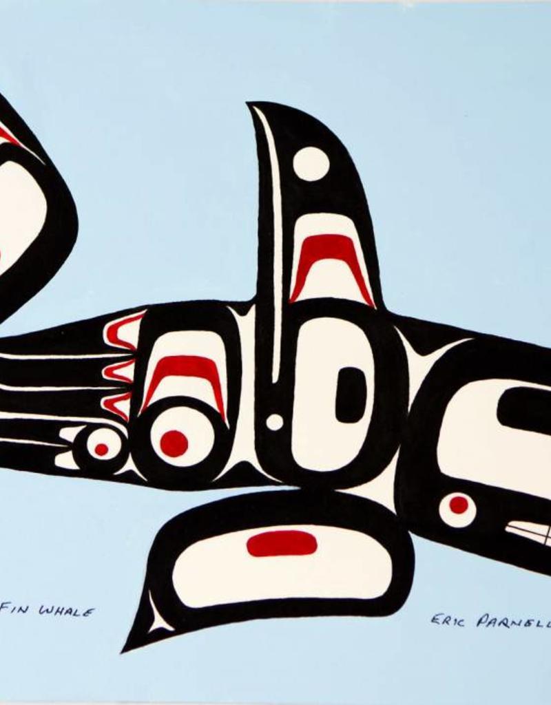 Parnell, Eric Haida Raven Fin Whale original