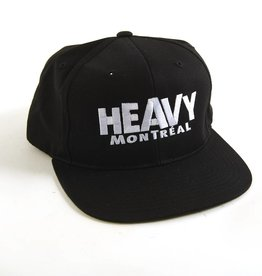"HEAVY MONTREAL CASQUETTE ""SNAPBACK"" LOGO BRODÉ"