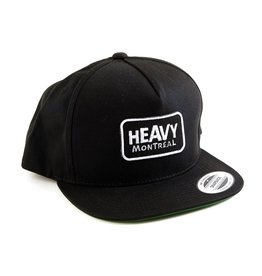 "HEAVY MONTREAL CASQUETTE ""SNAPBACK"" LOGO PATCH"