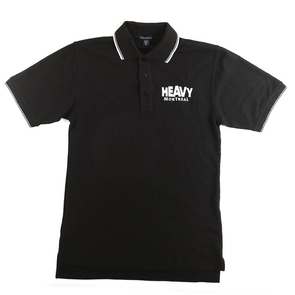 HEAVY MTL LOGO POLO SHIRT