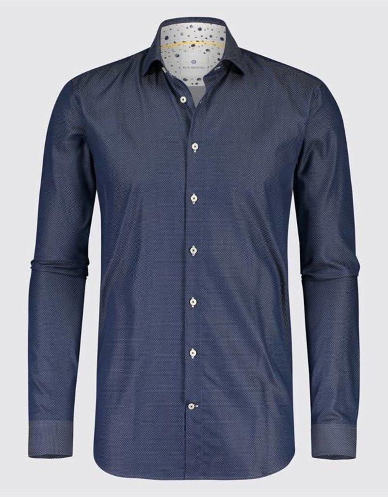 Frame Micro Dot Dress Shirt