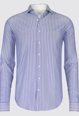 Blue Industry Stripe Dress Shirt