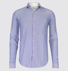 Blue Industry Stripes Dress Shirt