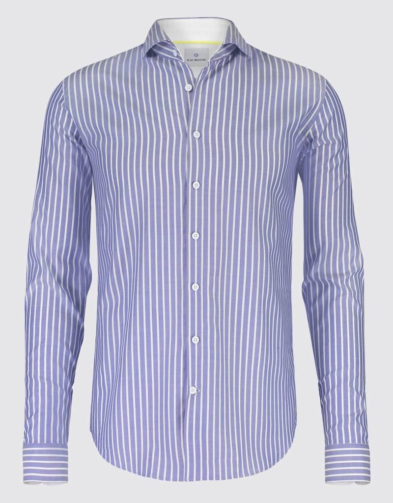 Blue Industry Stripes Dress Shirt