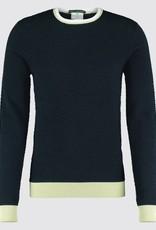 Blue Industry Waffle Crew Knit Shirt