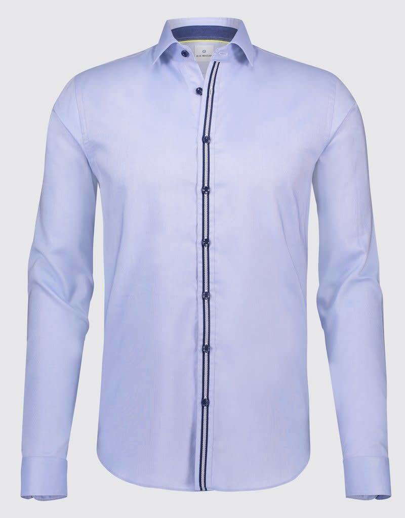 Blue Industry Tape Detail Shirt