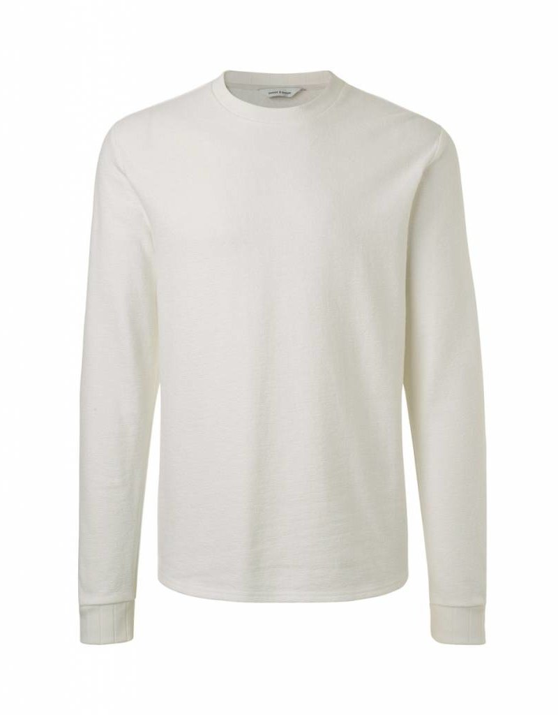 Samsoe & Samsoe Textured Crew Neck Sweater