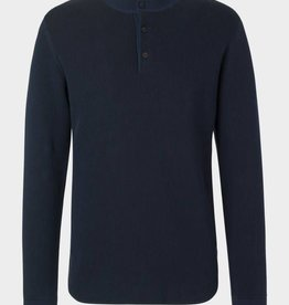 Samsoe & Samsoe Long Sleeve Henley Shirt