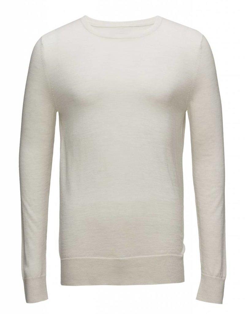 Samsoe & Samsoe Merino Wool Crew Neck Sweater