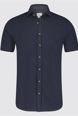 Blue Industry Jersey Button Up