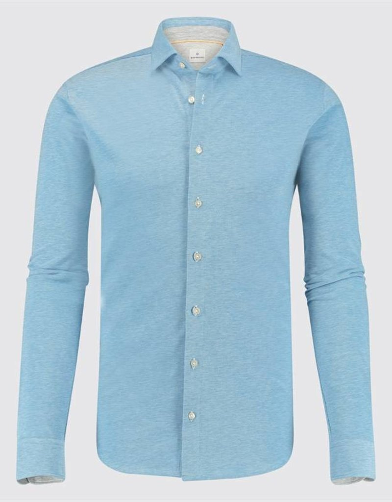 Blue Industry Jersey Long Sleeve Shirt