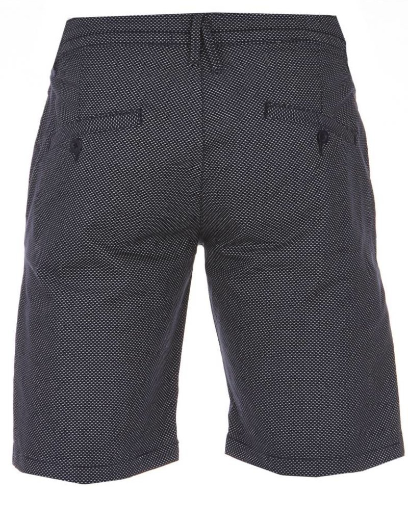 Blue Industry Print Shorts